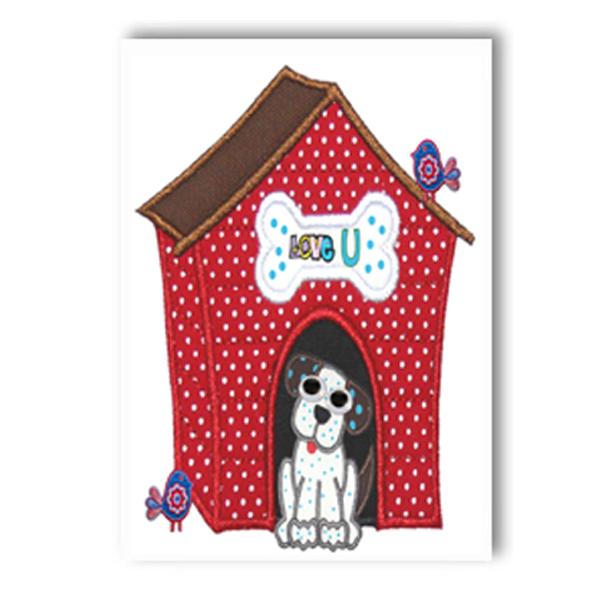 Spotty Dog Card