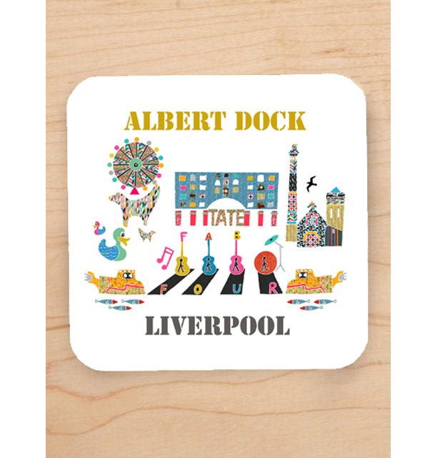 Albert Dock Coaster