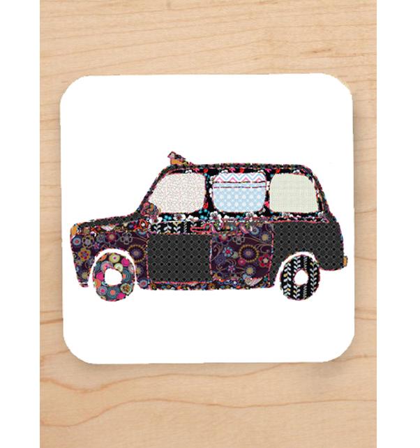 Black Taxi Coaster
