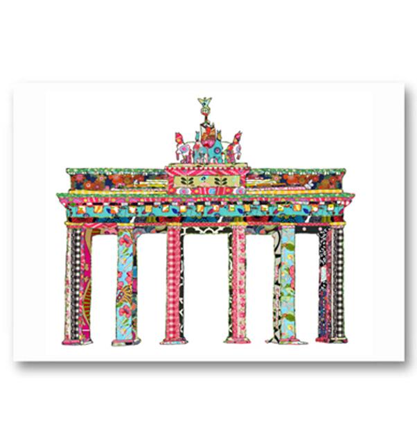 Brandenburg Gate Germany Card