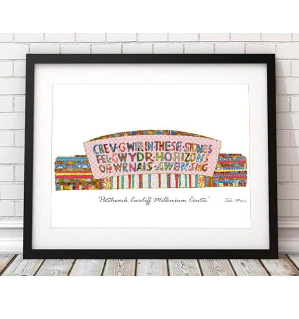 Patchwork Cardiff Millennium Centre