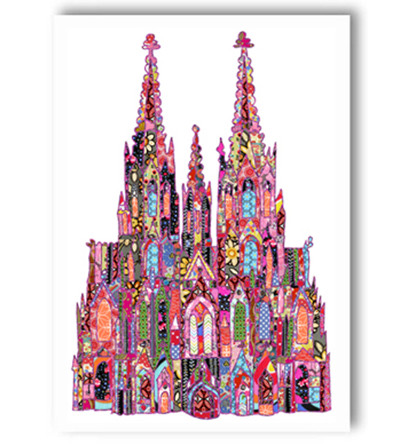 Cologne Cathedral Germany Card
