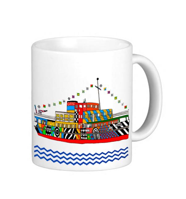 Dazzle Ferry Mug