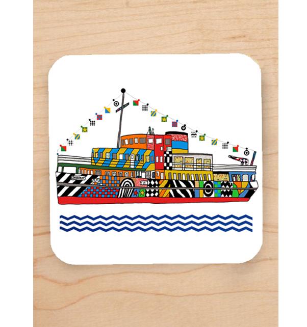 Dazzle Ferry Coaster