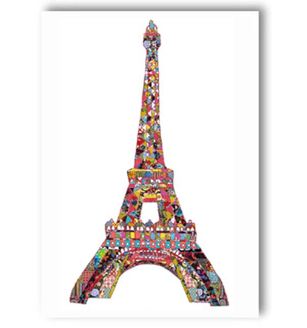 Eiffel Tower Paris Card