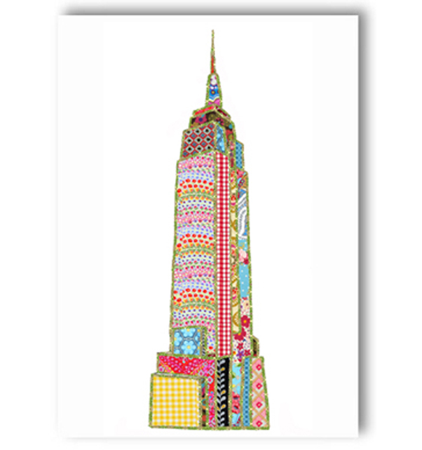 Empire State Building New York Card
