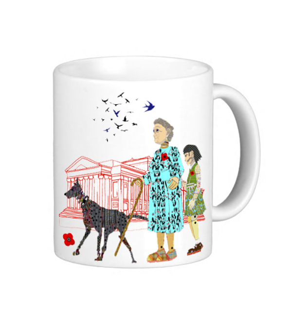 Giant Grandmother  Mug