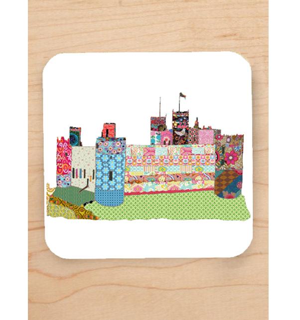 Harlech-Castle-Coaster