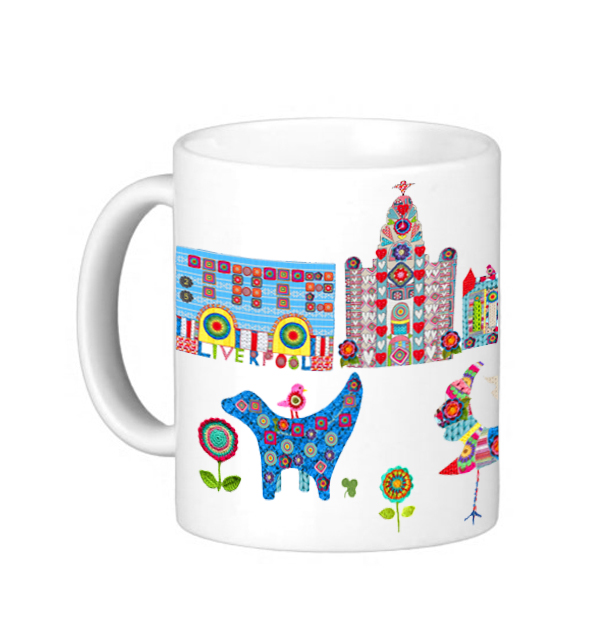 Knitted City Mug1