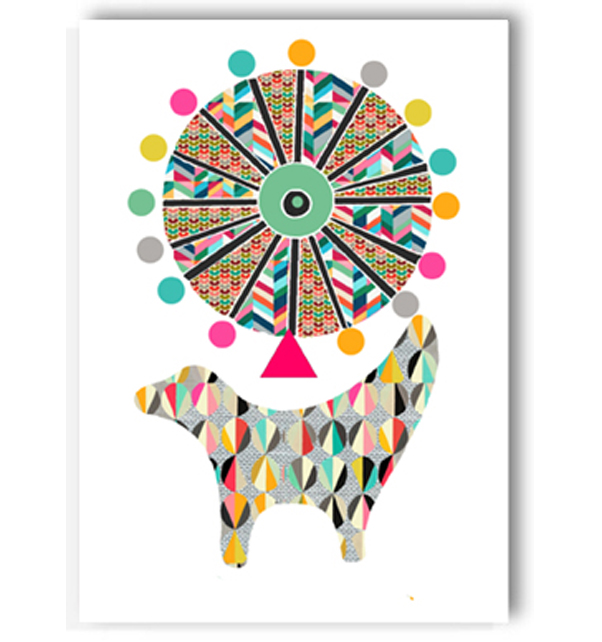 Lambanana and Wheel Card