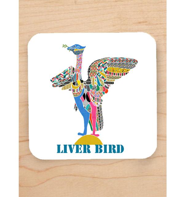 Liver Bird Coaster