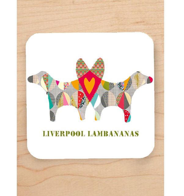 Liverpool Lambananas Coaster