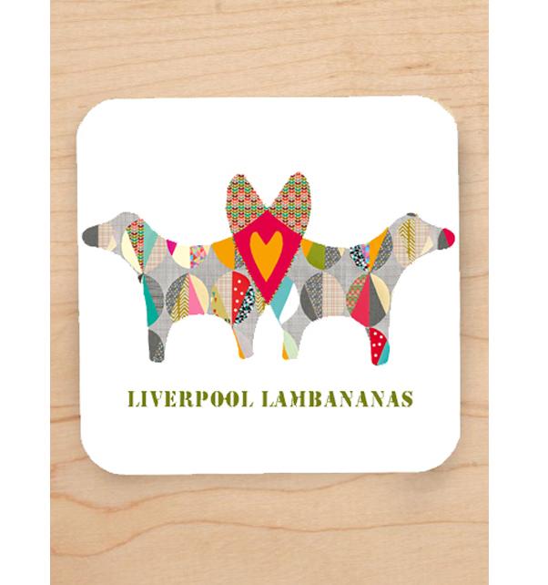 Liverpool Lambananas Coaster