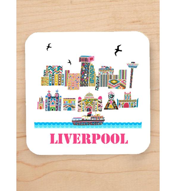 Liverpool Scene Coaster
