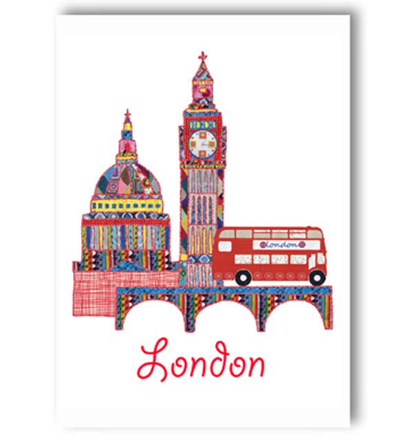 London Scene Card