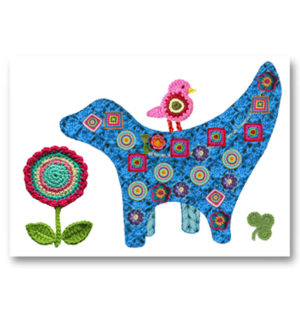 Lovely Lambanana Card