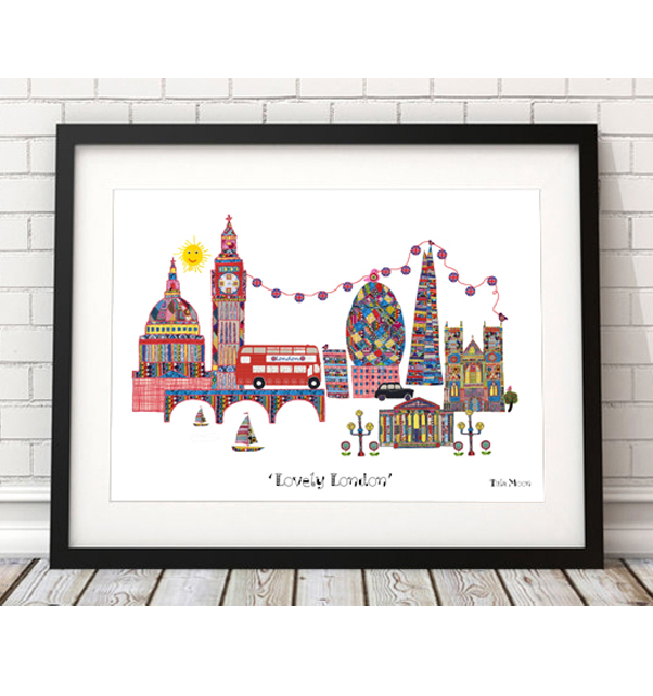 Lovely London Print