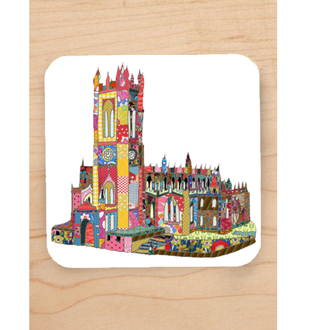 Manchester Cathedral Coaster