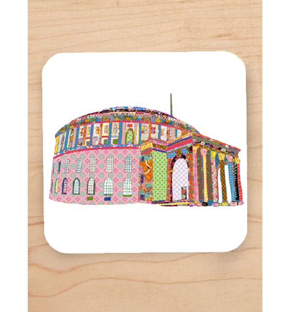 Manchester Central Library Coaster