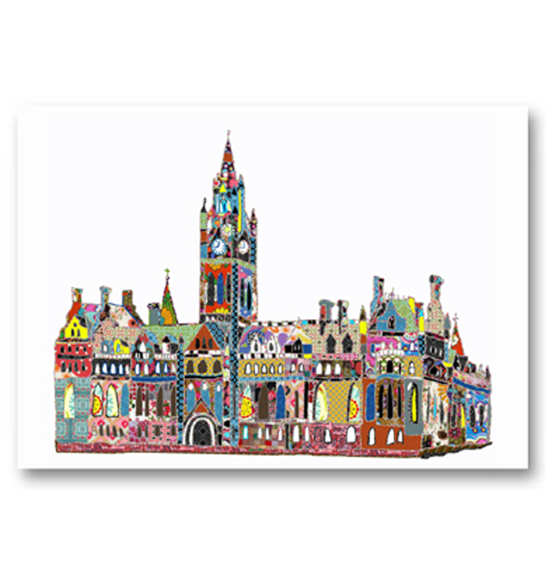 Manchester Town Hall Card