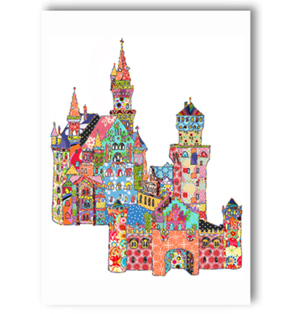 Neuschwenstein Castle Germany Card