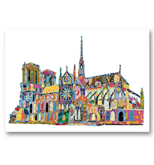 Notre Dame Paris Card