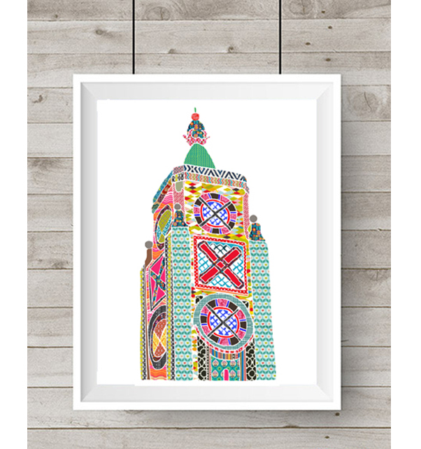 Oxo Tower Print