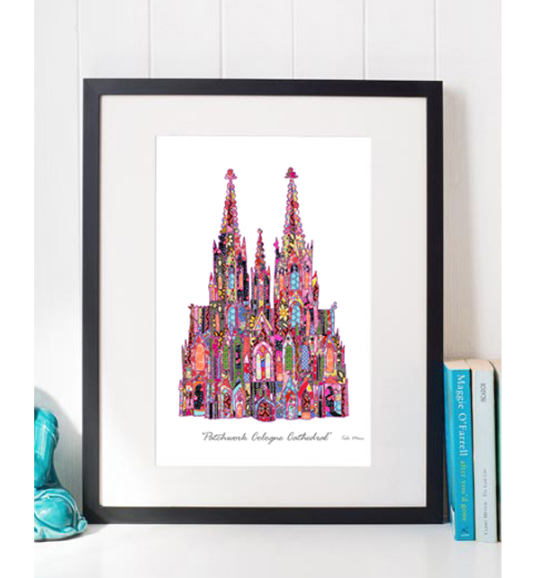 Patchwork Cologne Cathedral Print