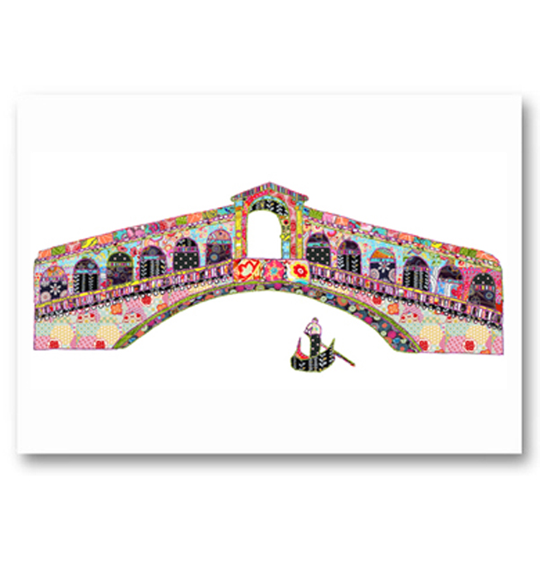 Rialto Bridge Venice Card