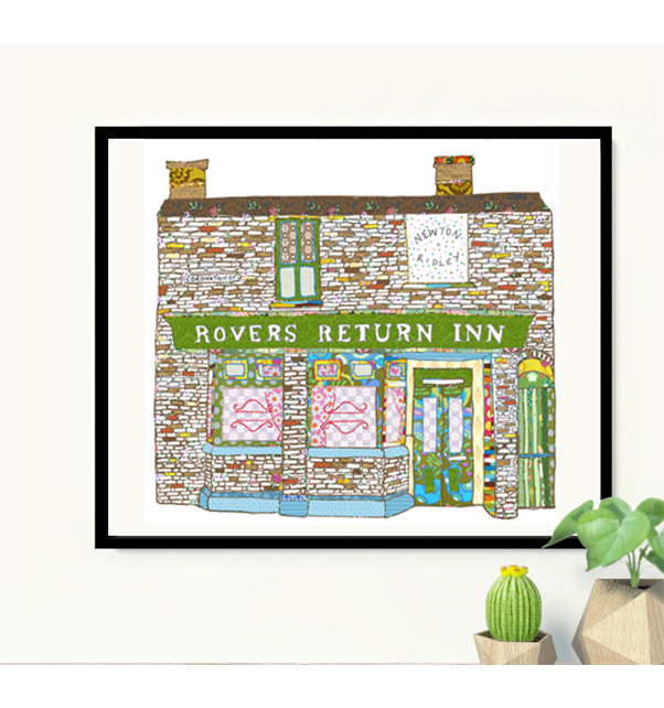 Rovers Return Print