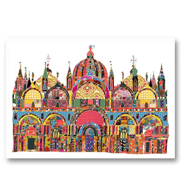 St Marks Venice Card