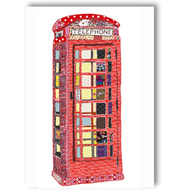Telephone Box Card