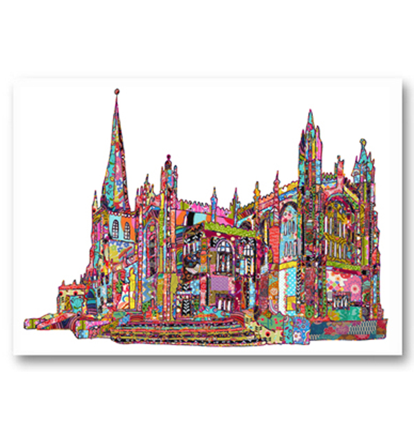 Wakefield Cathedral Card