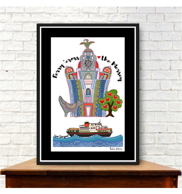 Ferry Cross the Mersey Print
