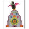 Liver Bird on Liver Building Card