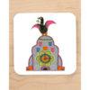 Liver Bird on Liver Building Coaster