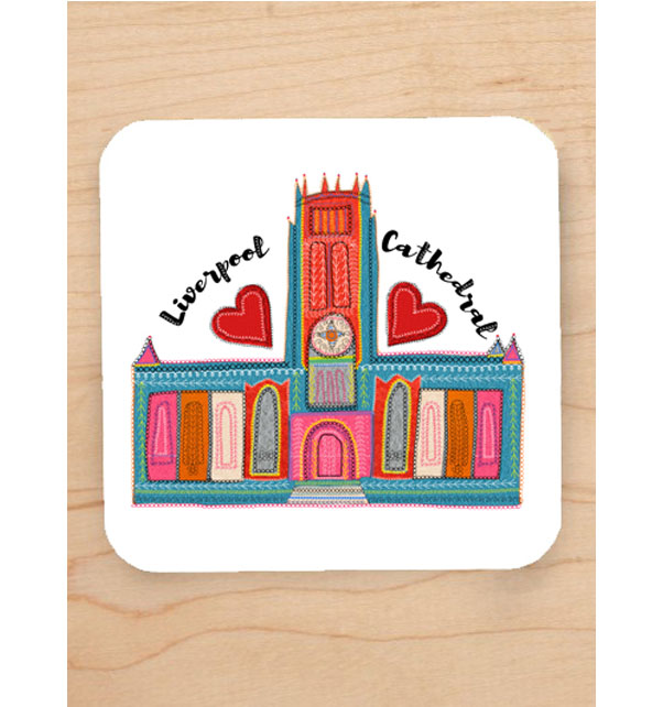 Liverpool Cathedral Coaster