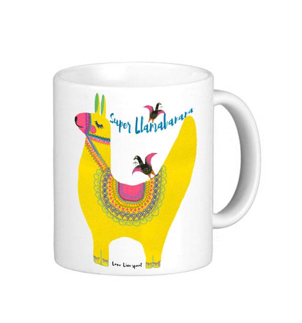 Liverpool Super Llamabanana Mug
