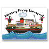 Mersey Ferry Liverpool Card