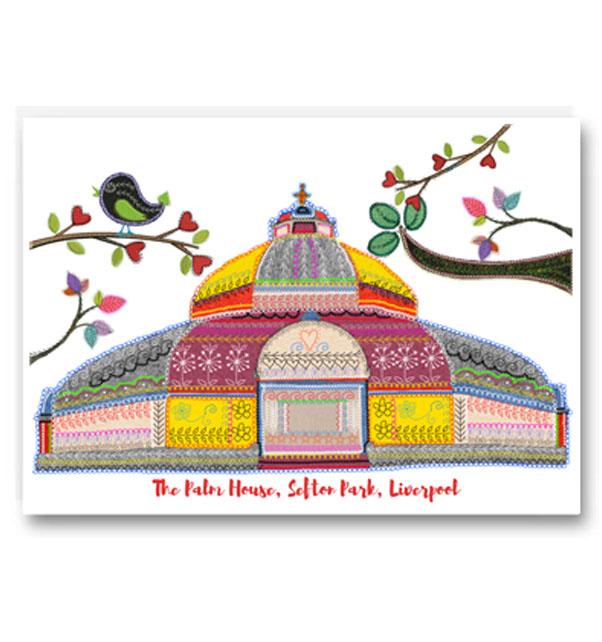 Sefton Park Palm House Card