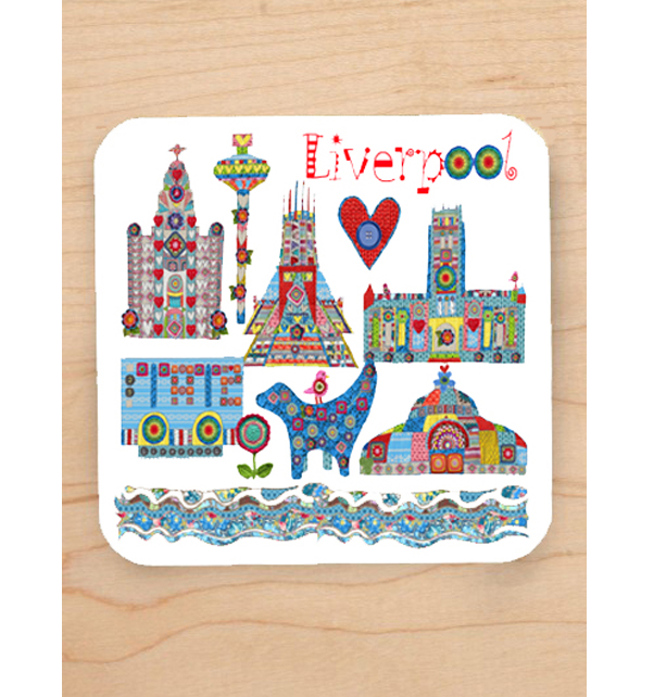 Knitted City Coaster
