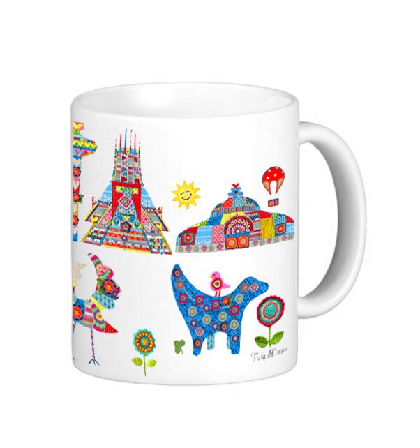 Knitted City Mug