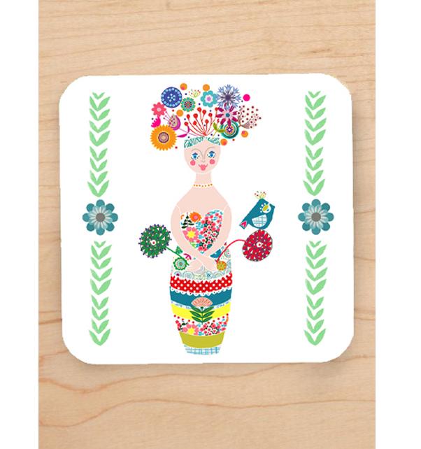 Little-Flower-Girl-Coaster