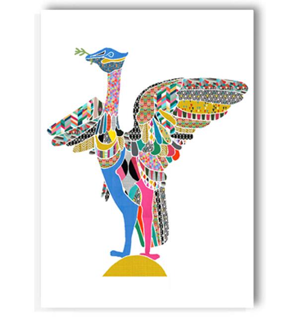 Liver Bird Card
