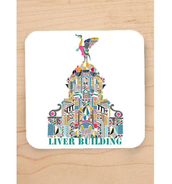 Liver Building Coaster