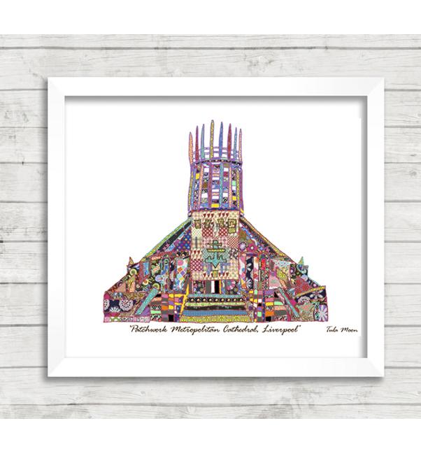 Patchwork Metropolitan Cathedral Print