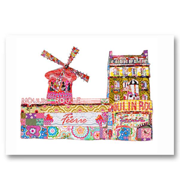 Moulin Rouge Paris Card