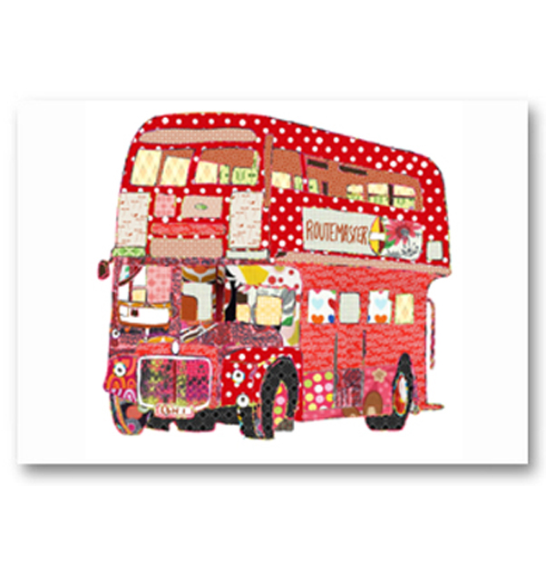 Routemaster Bus Card