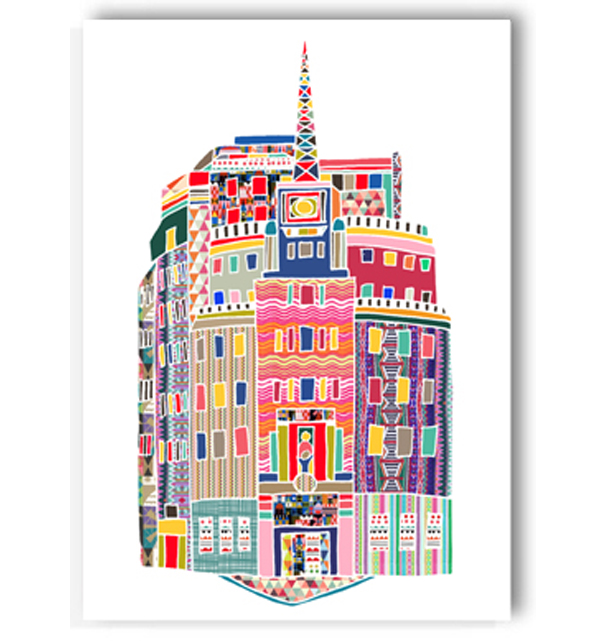 BBC Broadcasting House Card