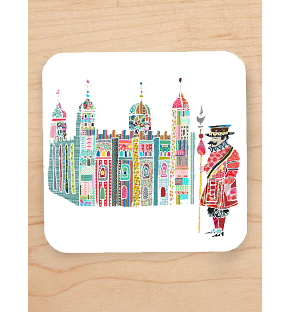 Tower of London and Beefeater Coaster